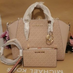 Michael kors Ciara LARGE purse bag crossbody set